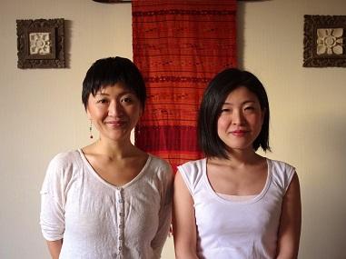 岩城紀子(写真左)柳恵理(写真右)
